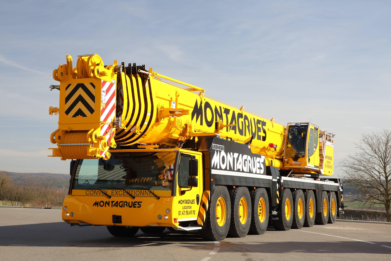 Montagrues LTM 1450-8.1  072535 - DU CADRE USINE LIEBHERR